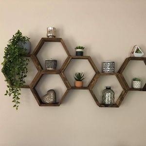 Honeycomb Shelves- set of 6